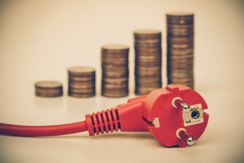 Increase in energy bills