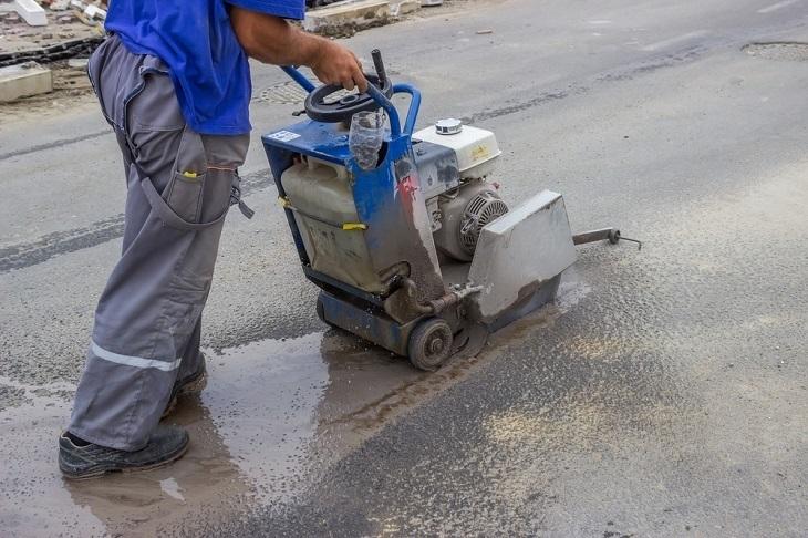 Asphalt Road Repair