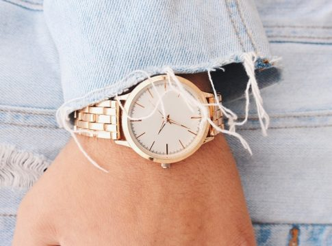 Rose gold-watches