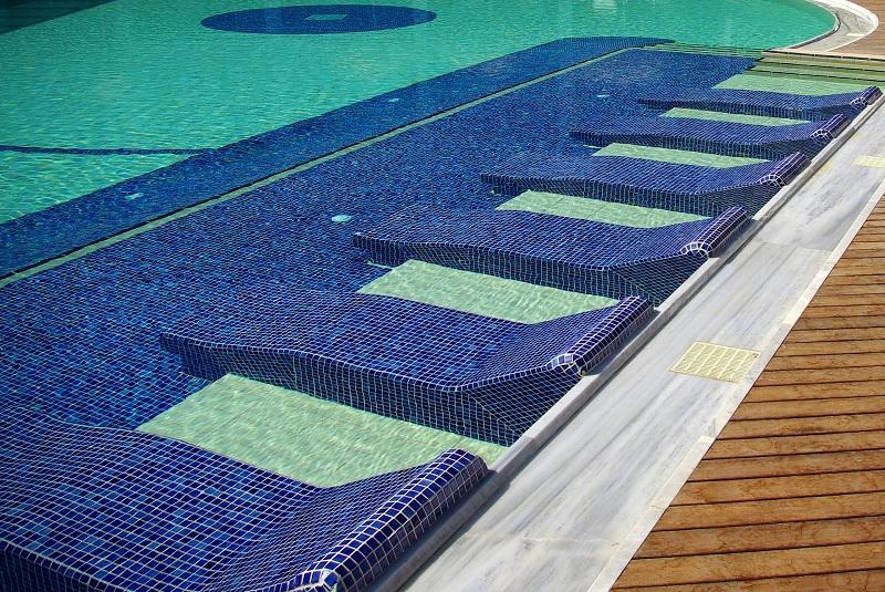 Pool Tiles.