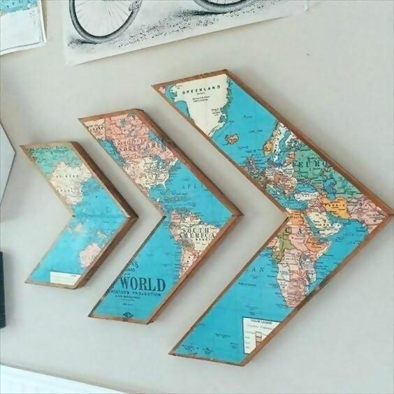Arrow map