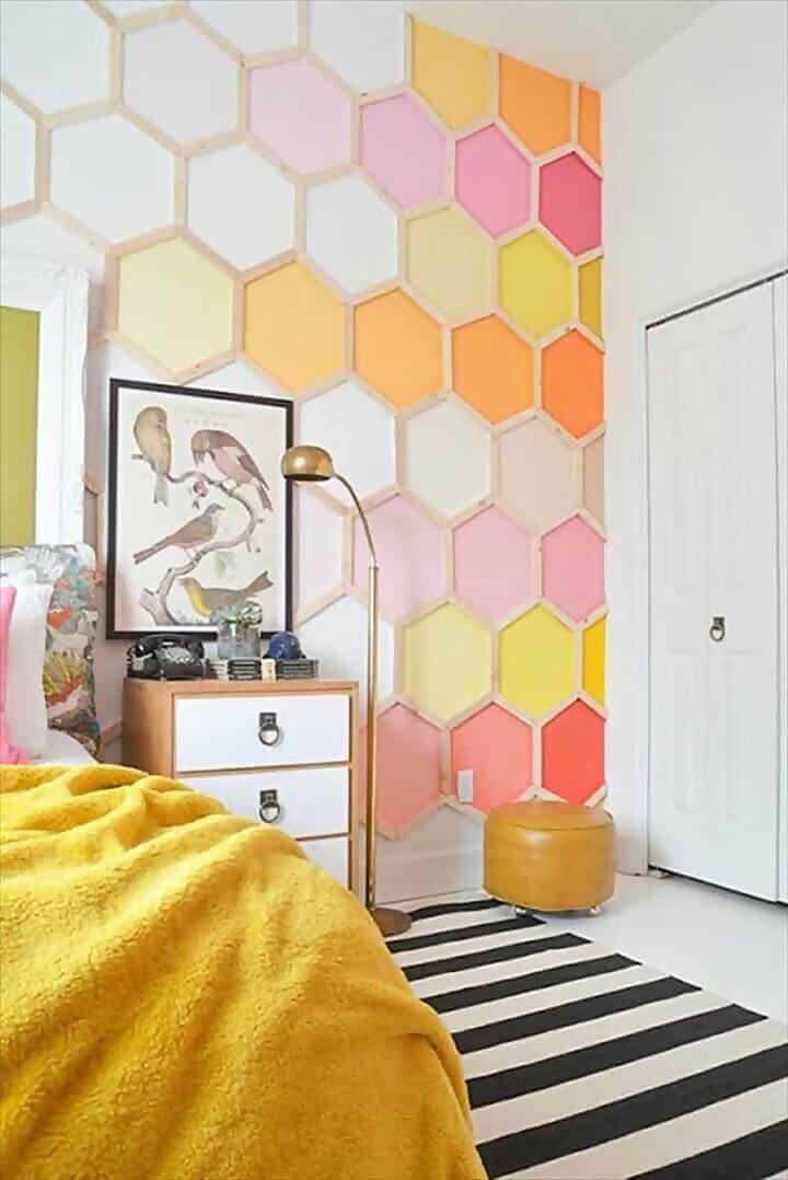 Honeycomb creative wallpaper