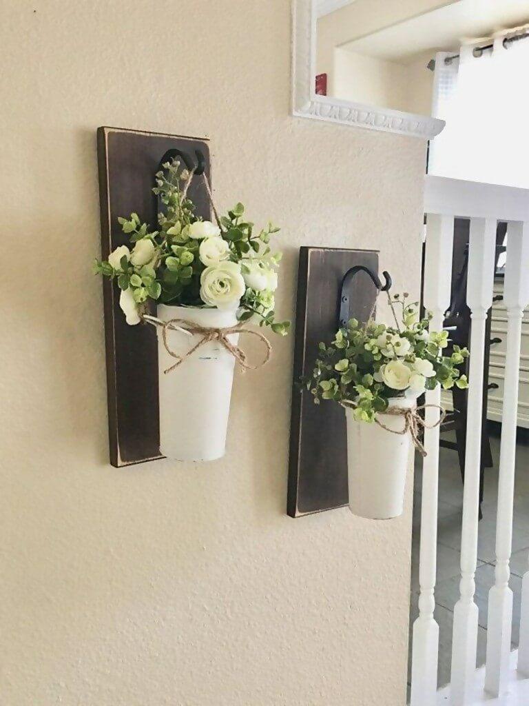 Plant vase rack