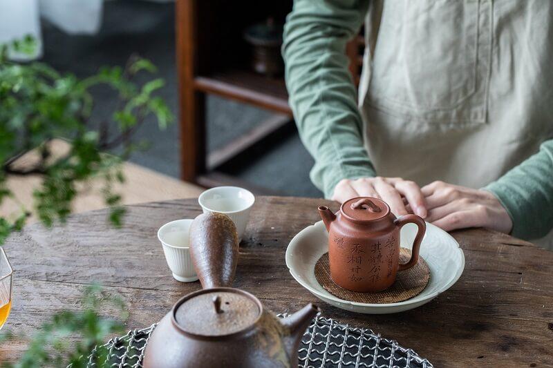 Porcelain Tea Sets.