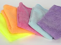 Industrial cleaning rags